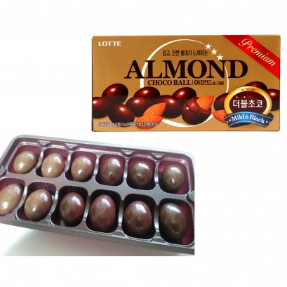 LOTTE ALMOND CHOCO BALL 46 G.