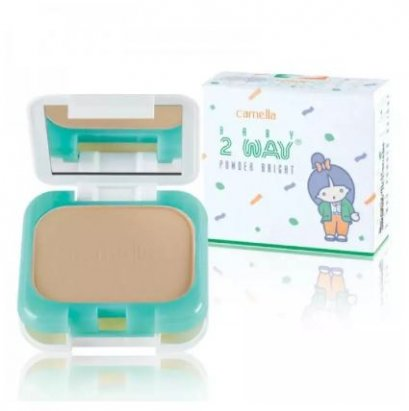 Camella Baby 2-Way Powder Bright #2 ผิวสองสี