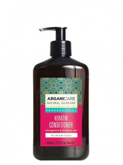 Arganicare Keratin Conditioner For All Hair Types 400 ml.
