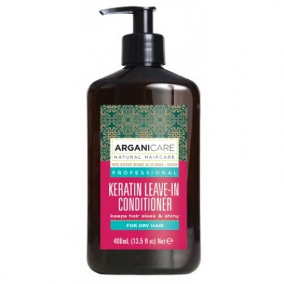 Argani Care Keratin Leave-In Conditioner For Curly Hair 400 ml.