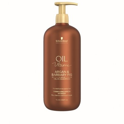 Schwarzkopf Professional Oil Ultime Argan & Barbary Fig Oil in Shampoo 1000 ml.