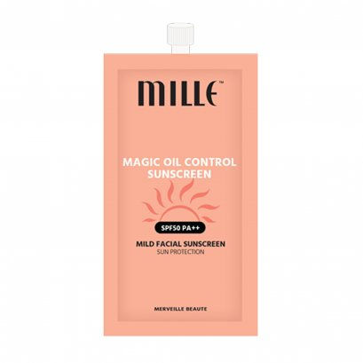 MILLE MAGIC OIL CONTROL SUNSCREEN SPF 50 PA++ (7G)
