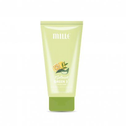 MILLE NATURAL GREEN 3+ FACIAL FOAM (40ML)