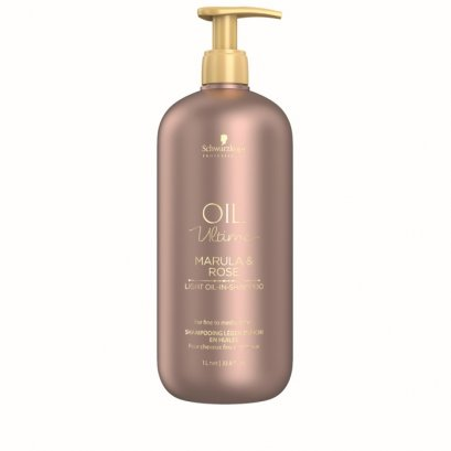 Schwarzkopf Professional  Oil Ultime Marula & Rose Light Oil-In-Shampoo 1000 ml.
