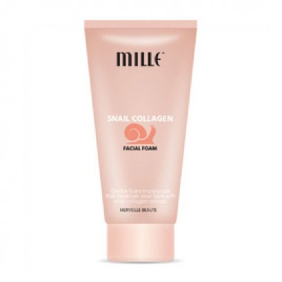 Mille Snail Collagen Facial Foam 40 ml.