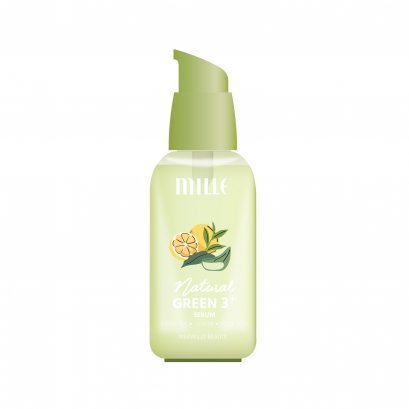 MILLE NATURAL GREEN 3+ SERUM 75 ML.