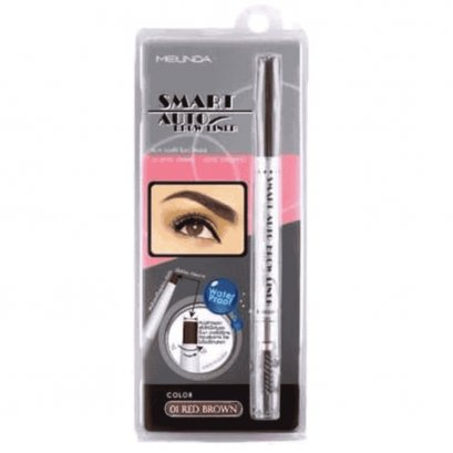 Mei Linda Smart Auto Brow Liner #01 Red Brown