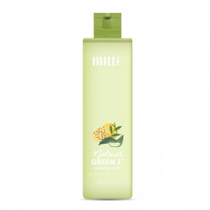 MILLE NATURAL GREEN 3+ CLEANSING WATER 215 ML.