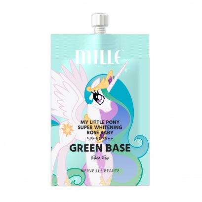 MILLE MY LITTLE PONY SUPER WHITENING ROSE BABY GREEN BASE (7G)