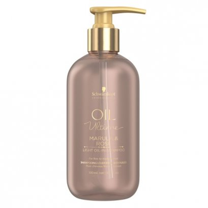 Schwarzkopf Professional  Oil Ultime Marula & Rose Light Oil-In-Shampoo 300 ml.