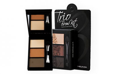 Mei Linda Trio Brow Kit #No.2 Dark Brown