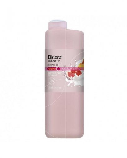 DICORA SHOWER GEL VITAMIN C CITRICS & PEACH 750 ML.