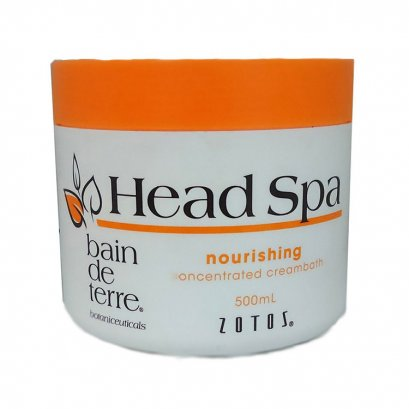 BAIN DE TERRE HEAD SPA SCALP NOURISHING CONCENTRATED CREAMBATH 500 ML.