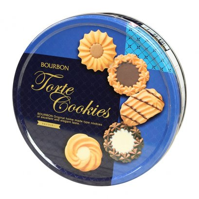 BOURBON TORTE COOKIES TIN 310g.