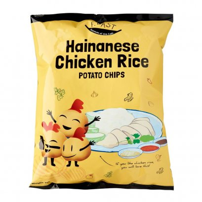 F.EAST Hainanese Chicken Rick Potato Chips 70 g.