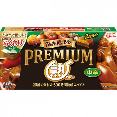 GLICO Premium JUKU Curry Midium Hot 160 g.