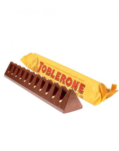 Toblerone Milk Chocolate Honey & Almond 50 g.