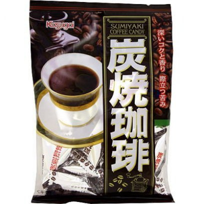 KASUGAI Black Coffee Flavor Candy 73 g.