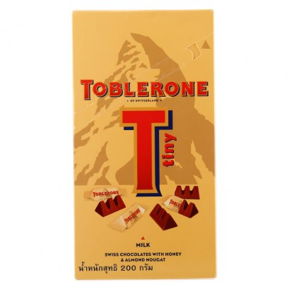 Toblerone One By One Milk Chocolate 200g.