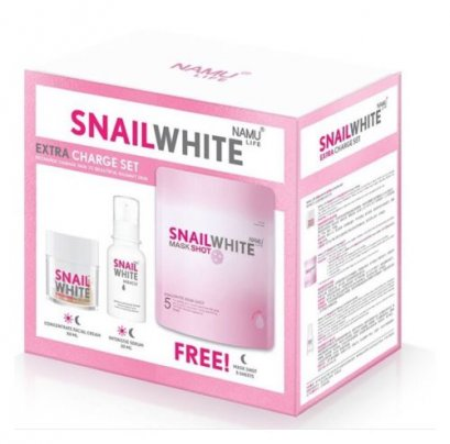 SNAIL WHITE EXTRA CHARGE SET 3 ITEM