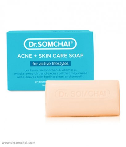 Dr.SOMCHAI ACNE+SKIN CARE SOAP FOR ACTIVE LIFEATYLES 80 G.