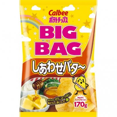 CALBEE JAGABEE POTATO BUTTER HONEY FLAVOR 170 G.