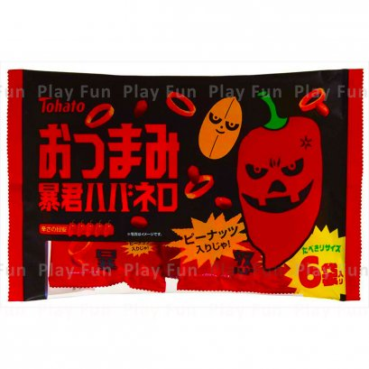 TOHATO POTATO RING SPICY SNACK 72 G.