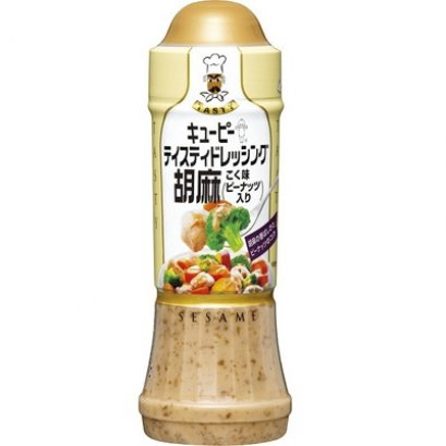 QP Tasty Dressing Rich Sesame (with peanuts) 210 ml.