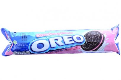 Oreo Strawberry Sandwich Cookies 137g