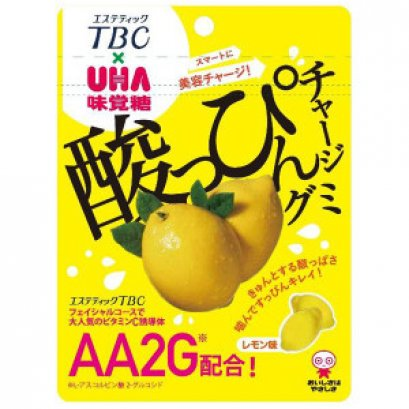 UHA Vitamin C gummy lemon taste 46 g.