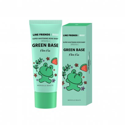 MILLE SUPER WHITENING ROSE BABY GREEN BASE SPF 30 PA++