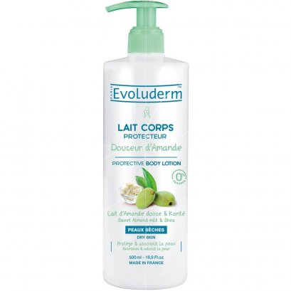 EVOLUDERM BODY LOTION DOUCEUR AMANDE 500 ML.