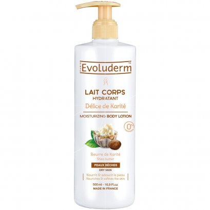 EVOLUDERM BODY LOTION DELICE KARITE 500 ML.