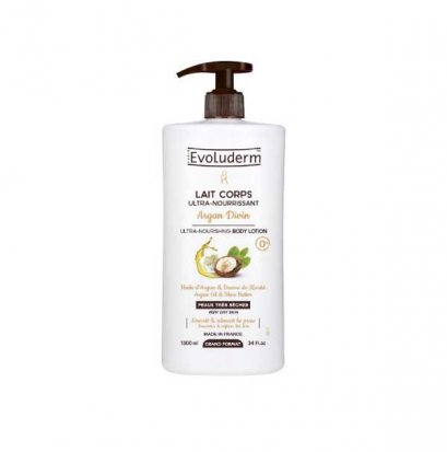 EVOLUDERM BODY LOTION ARGAN DIVIN 1 L.