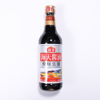 HAITIAN SILVER LABEL SUPERIOR LIGHT SOY SAUCE 500 ML.
