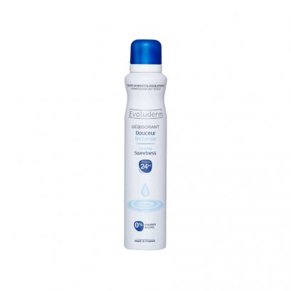 EVOLUDERM DEODORANT SWEETNESS 200 ML.