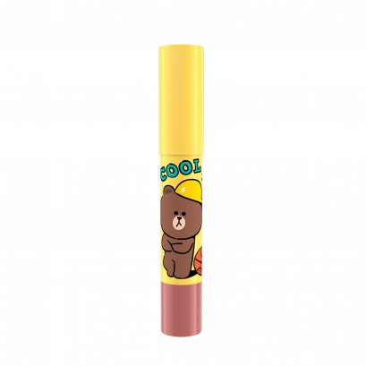 MILLE ICONIC CRAYON LIP COLOR #01 BROWN