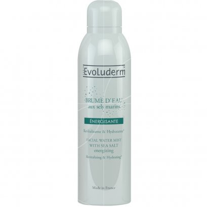 EVOLUDERM FACIAL WATER MIST ENERGIZING 150 ML.
