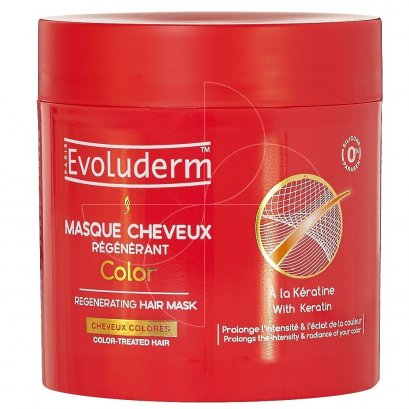 EVOLUDERM HAIR MASK COLOR 500 ML.
