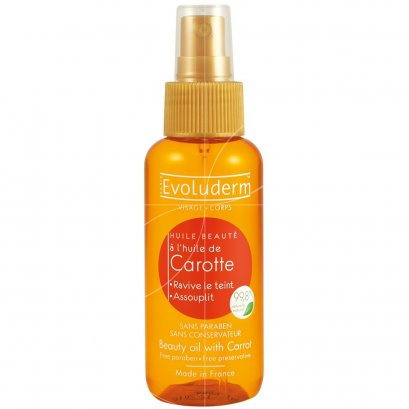 EVOLUDERM BEAUTY OIL CARROT 100 ML.