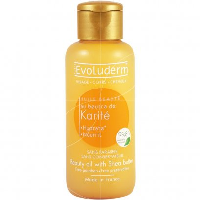 EVOLUDERM BEAUTY OIL SHEA 100 ML.