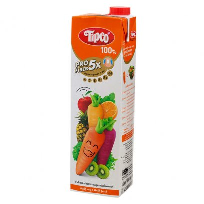TIPCO PROFIBER MIXED VEGETABLE  AND FRUIT JUICE TRIPLE CARROT FORMULA