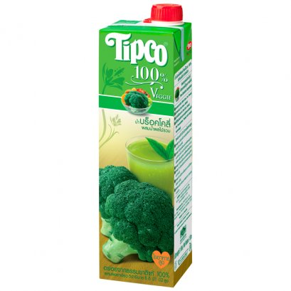 Tipco Broccoli and Mixed Fruit Juice