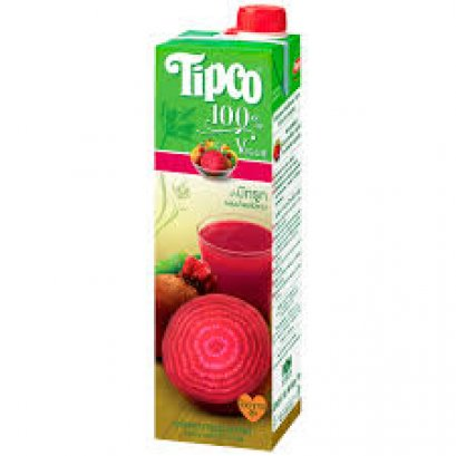 Tipco Veggie Mixed Vegetable And Mixed Fruit Juice Beetroot Formula