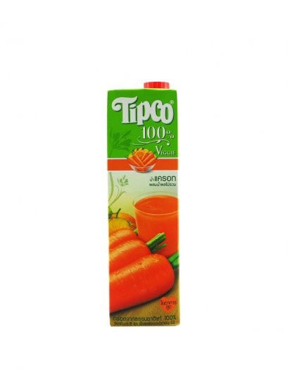 Tipco Carrot and Mixed Fruit Juice