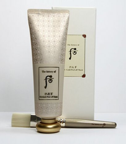 The history of Whoo Gold Peel off Mask