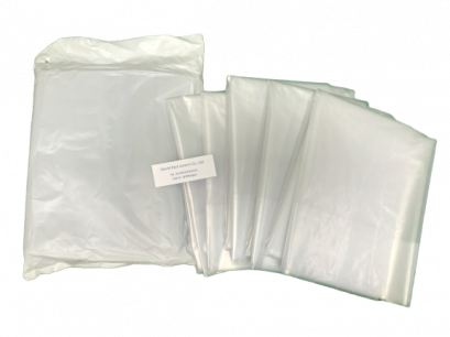 Garbage bag  clear size 36 x 45 inch