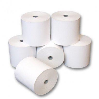 กระดาษเคมี ขนาด 75x75 mm. 2 ชั้น (10 ม้วน/แพ็ค)