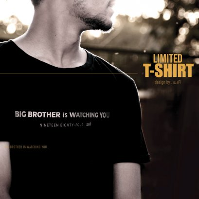 เสื้อยืด Big Brother T-Shirt (Black Edition)