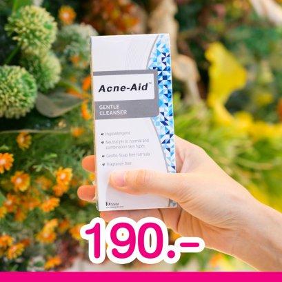 Acne Aid แอคเน่-เอดเจนเทิลคลีนเซอร์100 มล